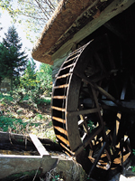 山口の水車・写真