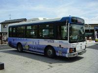 平泉町巡回バス「るんるん」・写真