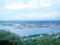 米子城跡・写真