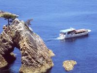 浦富海岸島めぐり遊覧船・写真