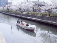 加茂川・中海遊覧船・写真