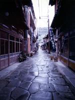青石畳通り・写真