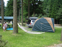 飯南町ふるさとの森キャンプ場