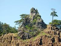 よろい岩・かぶと岩・写真