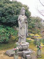 牡丹観音菩薩像・写真