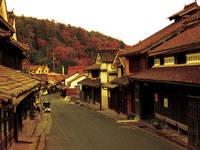 吹屋の町並み保存地区・写真