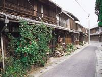 牛窓の街並み(しおまち唐琴通り)・写真