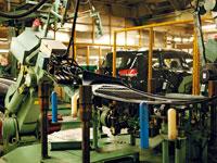 三菱自動車工業 水島製作所(見学)・写真