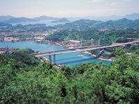 尾道大橋・新尾道大橋・写真