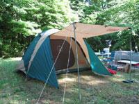 休暇村帝釈峡くぬぎの森オートキャンプ場・写真