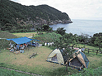 須佐湾エコロジーキャンプ場・写真