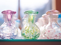 萩ガラス工房