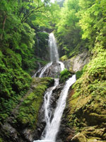 雨乞の滝・写真