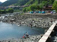 月ヶ谷温泉村キャンプ場・写真