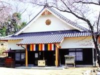 成田山聖代寺の桜・写真