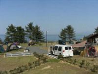 休暇村瀬戸内東予シーサイドキャンプ場・写真
