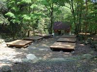 成川渓谷キャンプ場・写真