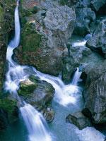 八釜の甌穴群・写真