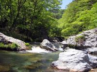 小田深山渓谷・写真