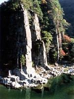 富郷渓谷・写真