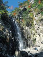 御来光の滝・写真