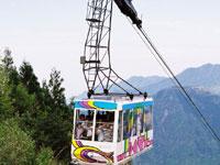 石鎚登山ロープウェイ・写真