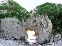 白山洞門・写真