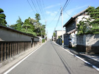 中宿の景観・写真