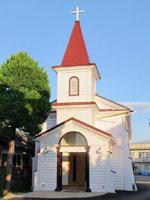 カトリック大河原教会・写真