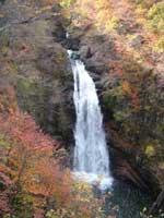 秋保大滝の紅葉