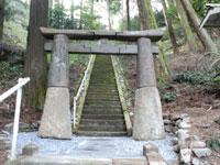 室園神社の肥前鳥居・写真