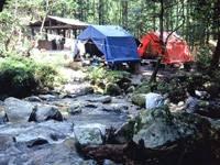 御手洗の滝(キャンプ場)