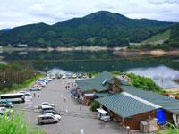 ダムの駅富士 しゃくなげの里・写真