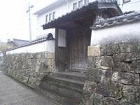 武家屋敷跡・写真