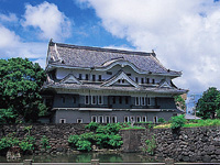 福江城跡(石田城跡)・写真