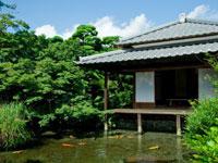 湧水庭園「四明荘」・写真