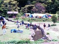 緑仙峡キャンプ場・写真