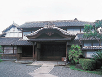 旧細川刑部邸・写真