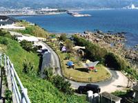 白岩崎キャンプ場・写真