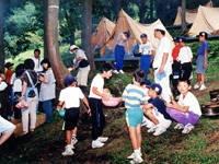 藺牟田池キャンプ場