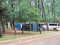 県立吹上浜海浜公園キャンプ場・写真