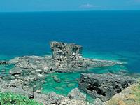 サンニヌ台と軍艦岩