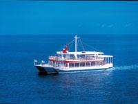 大型水中観光船「オルカ号」