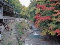 秋の宮温泉郷・写真