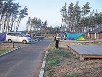 宮沢海岸オートキャンプ場キャンパルわかみ・写真