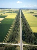 直線道路・写真