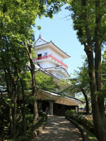 久保田城御隅櫓・写真