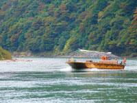 最上峡芭蕉ライン舟下り・写真