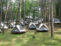 びわ沢原森林公園キャンプ場・写真