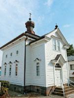 白河ハリストス正教会・写真